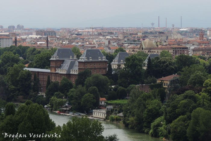 River Po, Valentino Castle & Botanical Garden of the university of Turin
