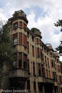Building on Corso Fiume, Turin