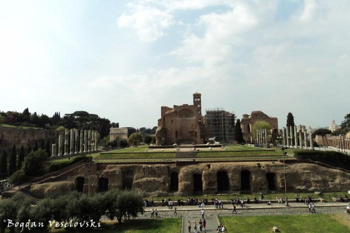 Fori Imperiali - Temple of Venus and Roma