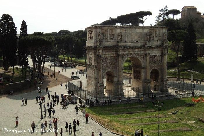 Arch of Constantine (Arco di Costantino)