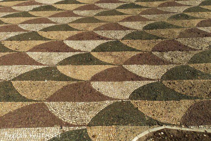 Mosaic floor, Terme di Caracalla