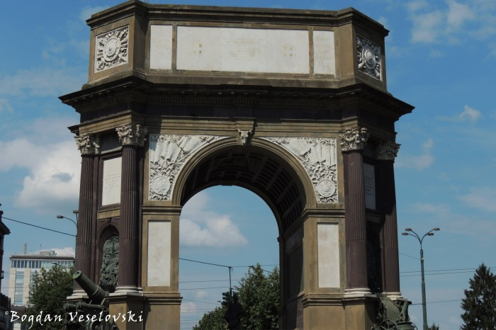 Turin Triumphal Arch by Pietro Canonica (Arco del Valentino)