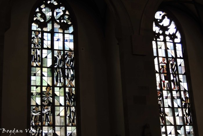 Stiftskirche's stained glass