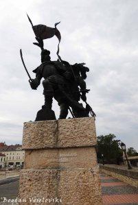 Monument in the honour of Adolf von Schwarzenberg and Miklós Pálffy