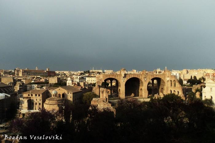 Basilica of Maxentius and Constantine (Basilica Nova)
