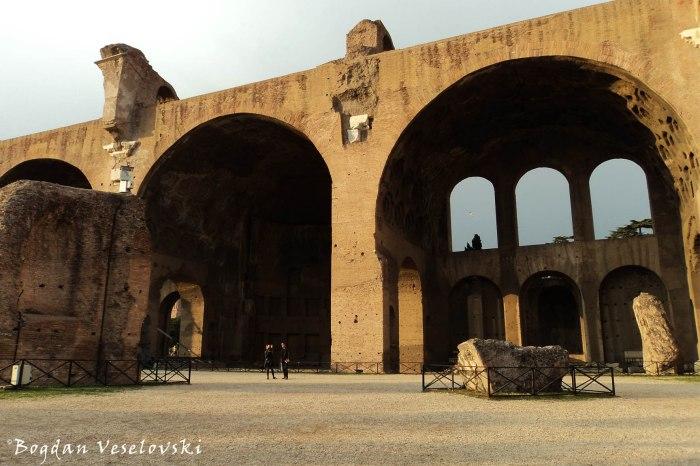 Fori Imperiale - Basilica of Maxentius