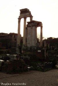 Fori Imperiale - Temple of Vesta & Temple of Castor and Pollux (Tempio di Vesta & Tempio dei Dioscuri)