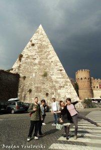 Pyramid of Cestius (Piramide di Caio Cestio)