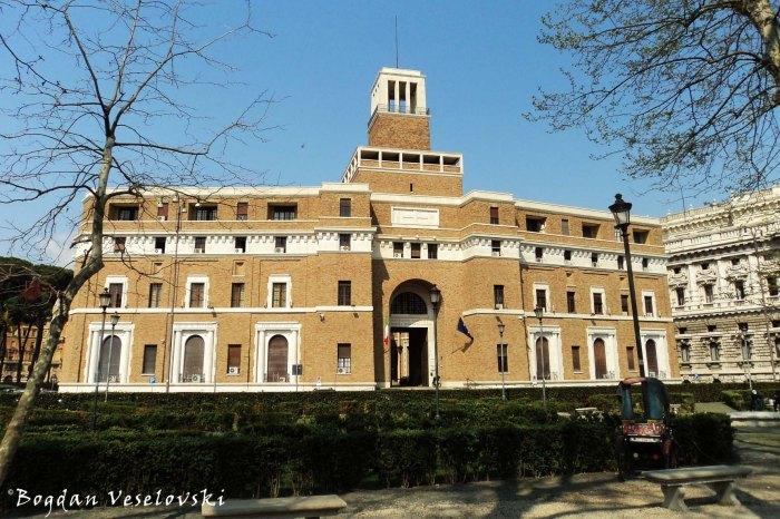 House of the Cripples and Invalids of War in Rome (Casa Madre dei Mutilati e Invalidi di Guerra)