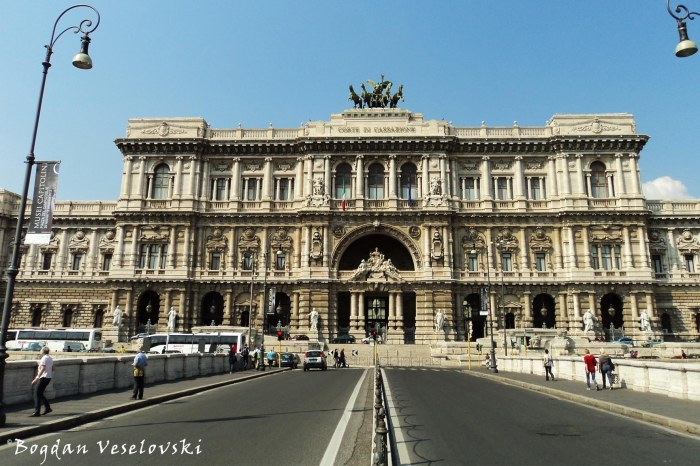 Palace of Justice - Supreme Court of Cassation, Rome (Palazzo di Giustizia - Corte suprema di cassazione)