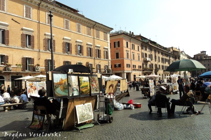 Artists in Piazza Navona