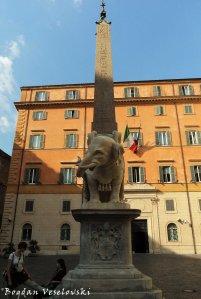 Elephant and Obelisk by Gian Lorenzo Bernini