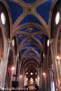 Interior of Basilica of Saint Mary above Minerva (Basilica di Santa Maria sopra Minerva)