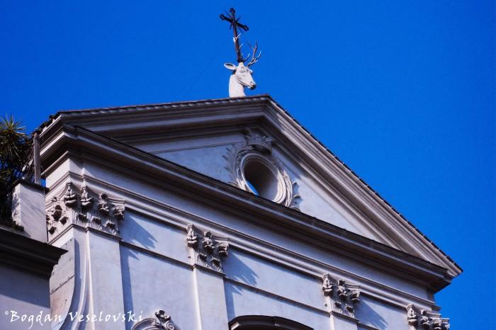 Pediment of Sant'Eustachio