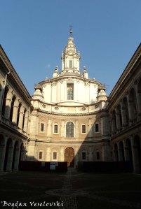 Church of Saint Yves at La Sapienza (Chiesa di Sant'Ivo alla Sapienza )