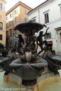 The Turtle Fountain (Fontana delle Tartarughe)
