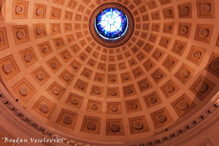 Vestibule's dome of Basilica of St. Mary of the Angels and the Martyrs (Santa Maria degli Angeli e dei Martiri)