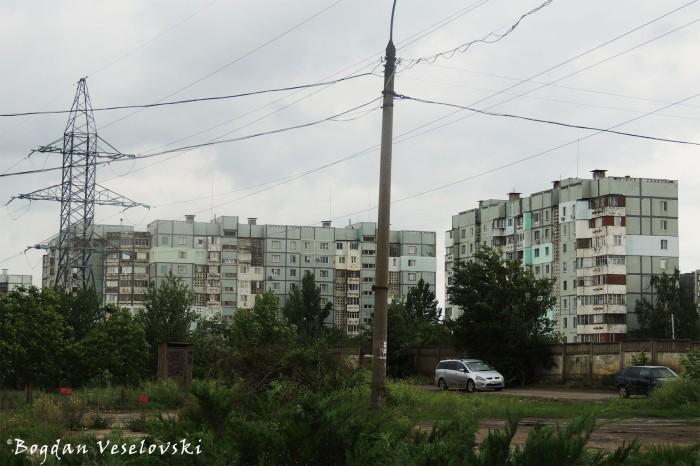 Apartment blocks in Tiraspol