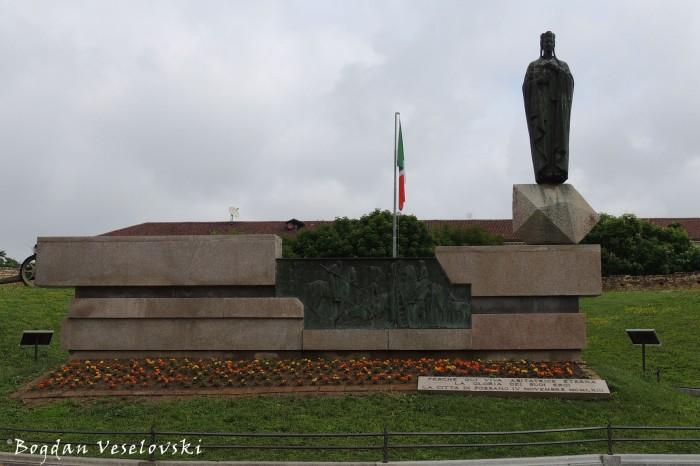 Monumento ai caduti, Piazza del Salice