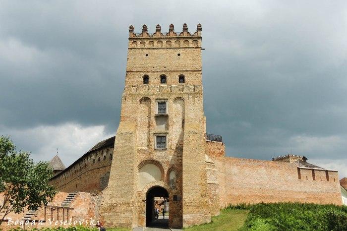 Main entrance to Lutsk High Castle (В'їзна вежа Луцького замку)