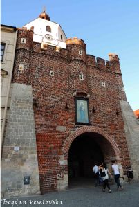 Cracow Gate in the Old Town (Brama Krakowska)