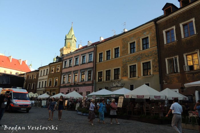 Lublin Old Town & Tower-bell