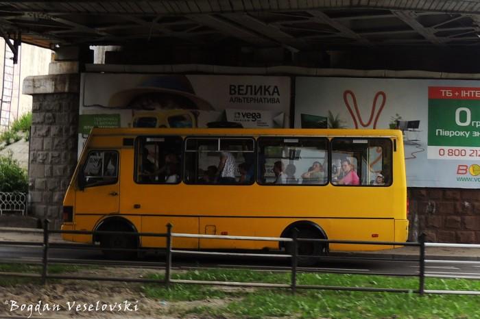 Bogdan (Богдан) bus in Lviv