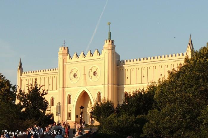 Main entrance gate of Lublin Royal Castle (Zamek Lubelski)