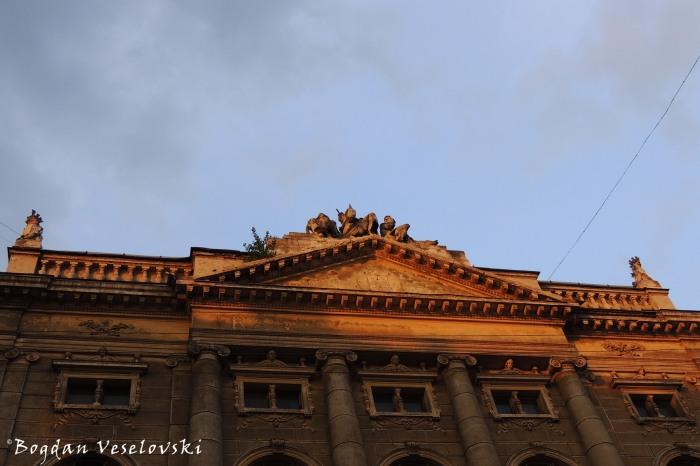 Lviv Polytechnic - Fronton of Institute of Law and Psychology (Львівська політехніка - Інститут права та психології)