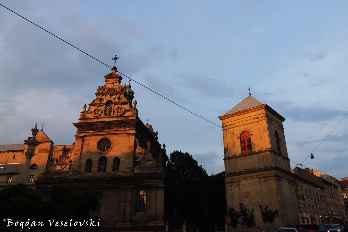 Bernardine church and monastery & Bell Tower , Lviv (Комплекс монастиря та костелу Бернардинів & Дзвіниця, Львів)