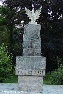 Monument of the Constitution of May 3 in Litewski Square, Lublin (Pomnik Konstytucji 3 Maja)