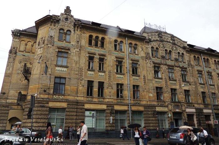 Former building of the insurance company 'Dniester' (Будівля СК «Дністер»)