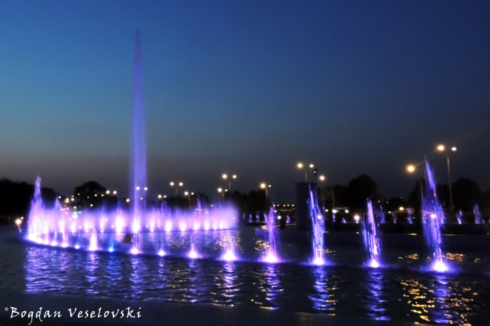 Multimedia Fountain, Warsaw