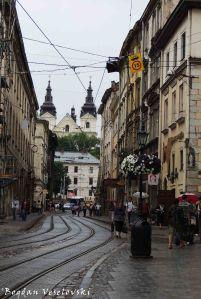 Ruska Street & Carmelite Church