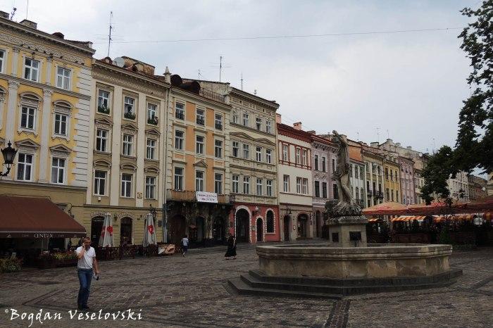 Amphitrite's fountain in the Market's Square