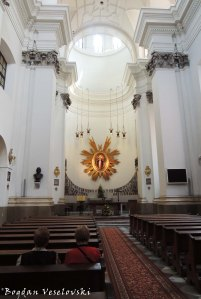 Inside of the Jesuit Church