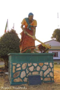 Statue in Chipata