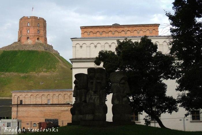 'Lithuanian ballad' (Lietuvos baladė) by Vladas Vildžiūnas & Upper Castle Tower