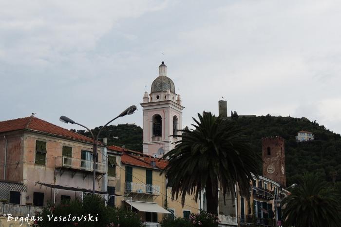 Noli Towers (S. Pietro, Palazzo Comunale, Castello di Monte Ursino)