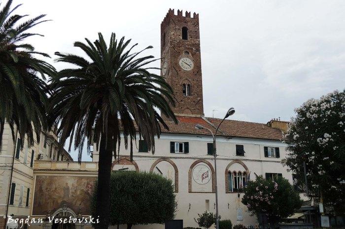 Porta Piazza & Torre Comunale, Noli
