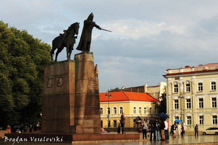 Gediminas Monument in Vilnius