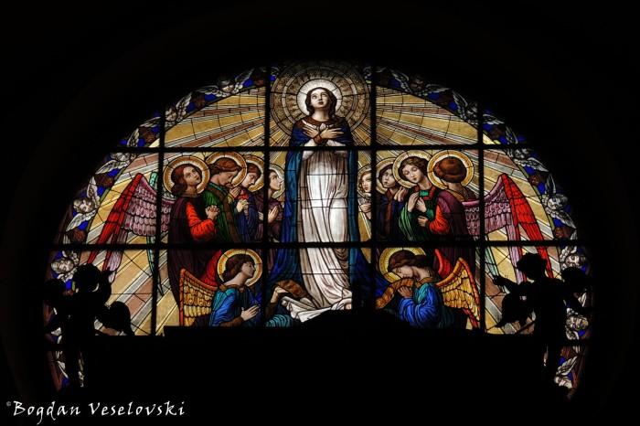 Chiesa di Santa Maria della Scala - Stained glass