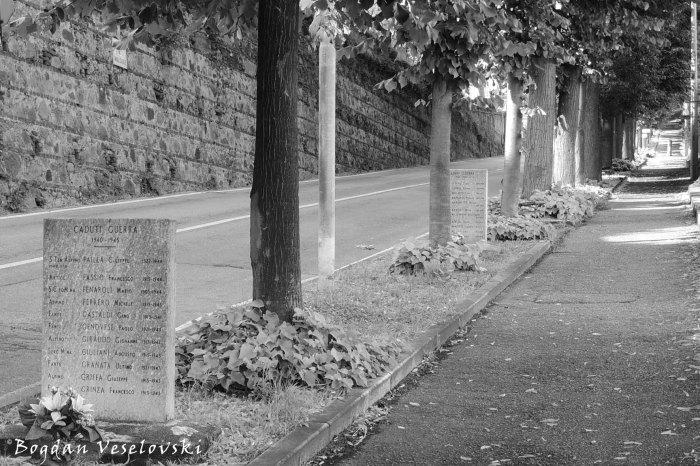 Caduti Guerra (The Fallen of the War)