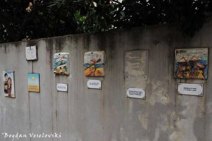 Street Gallery in Noli