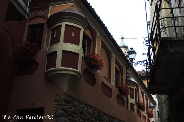 'Il Conventino' nel Borgo Maggiore di Garessio