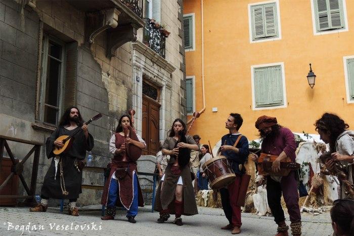 Medieval folk band