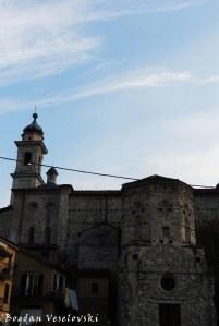 Church & Baptistery of San Giovanni seen from Piazza dei Battuti Parvi, Garessio