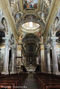 Collegiata di San Giovanni Battista - Navata