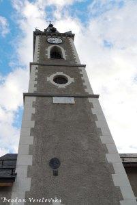 L'église du Bez à Serre Chevalier