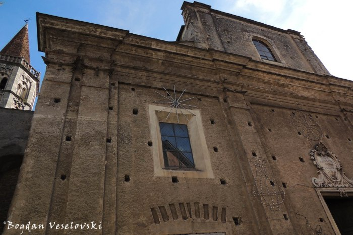 San Biagio church in Finalborgo